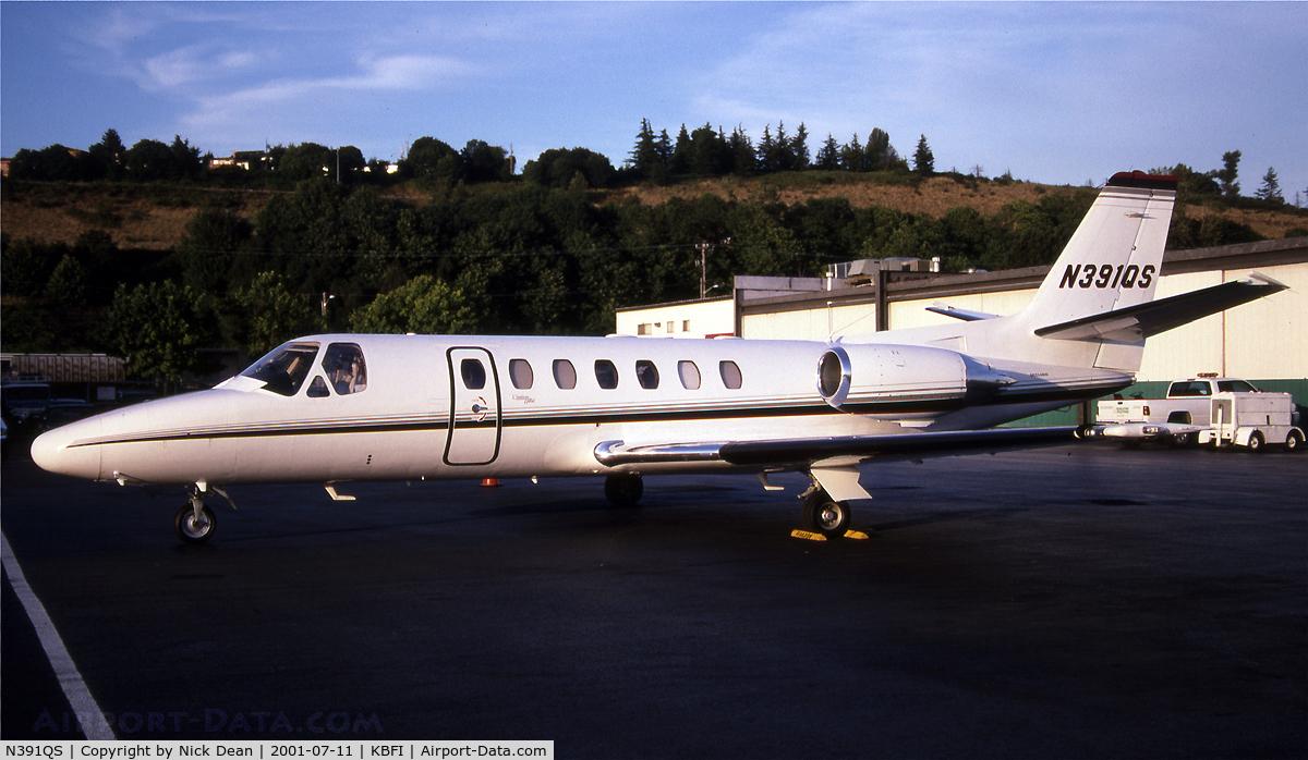 N391QS, 1998 Cessna 560 C/N 560-0493, KBFI
