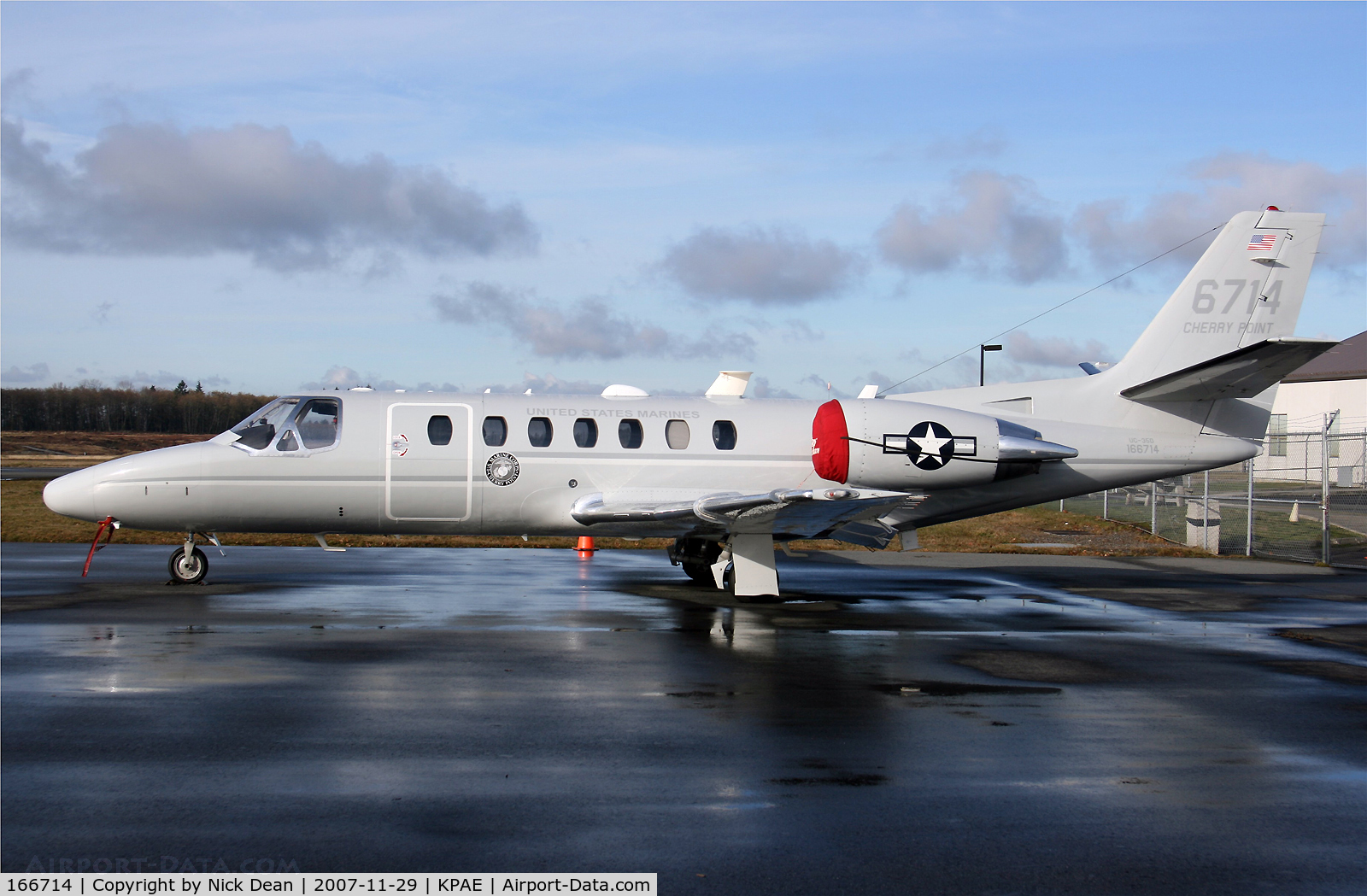 166714, 2005 Cessna UC-35D Citation Encore C/N 560-0679, KPAE