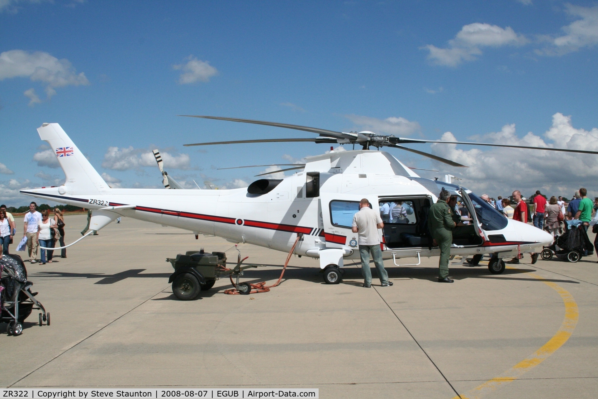 ZR322, 2006 Agusta A-109E Power C/N 11664, RAF Benson Families Day, RAF Benson, Oxfordshire, England - August 2008