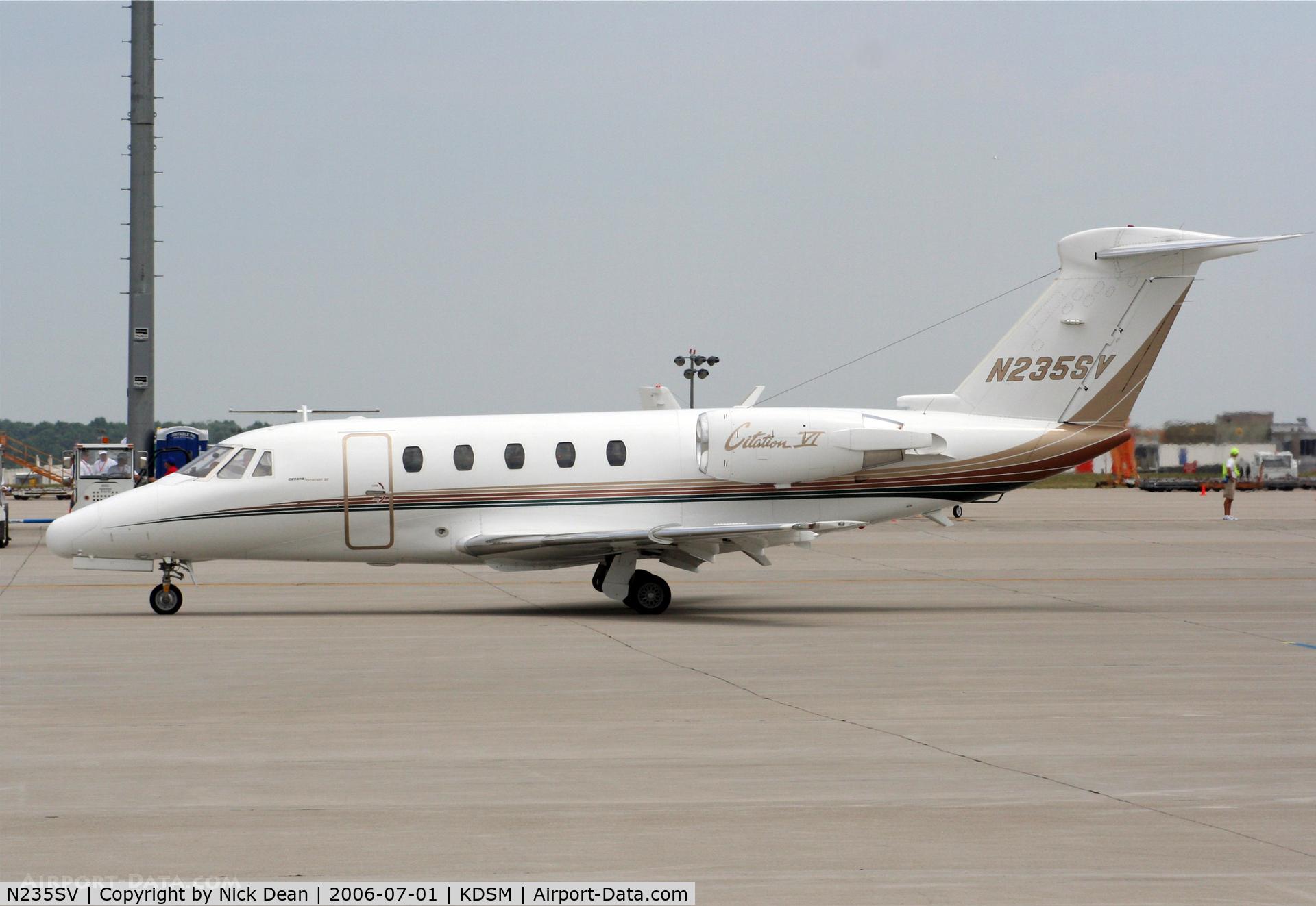 N235SV, 1994 Cessna 650 C/N 650-0235, KDSM