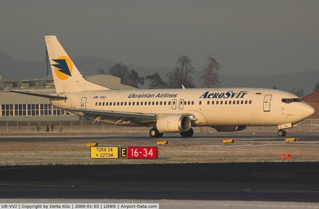 UR-VVJ, 1989 Boeing 737-448 C/N 24474, AEROSVIT