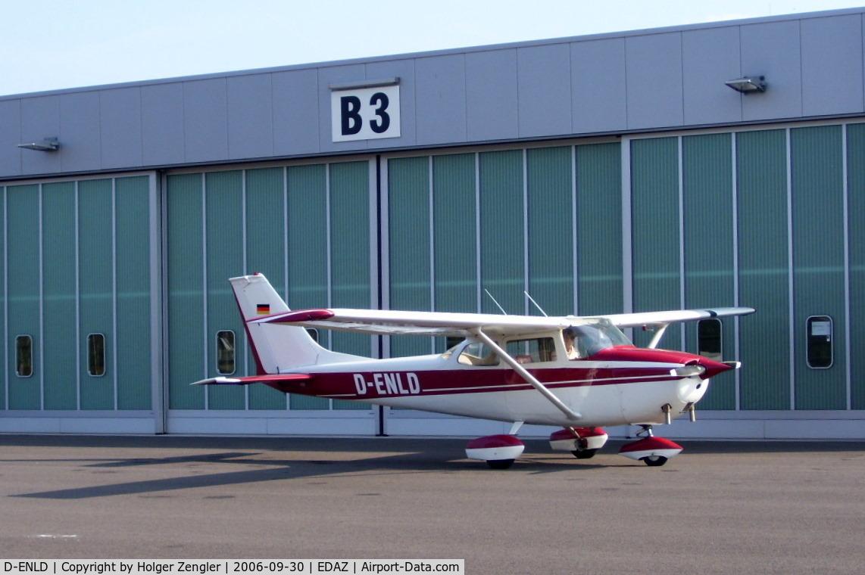 D-ENLD, Reims F172H Skyhawk C/N 0686, www.edaz.de (Schoenhagen airfield)