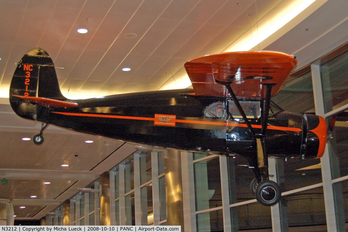 N3212, 1938 Fairchild 24 G C/N 2933, At Anchorage