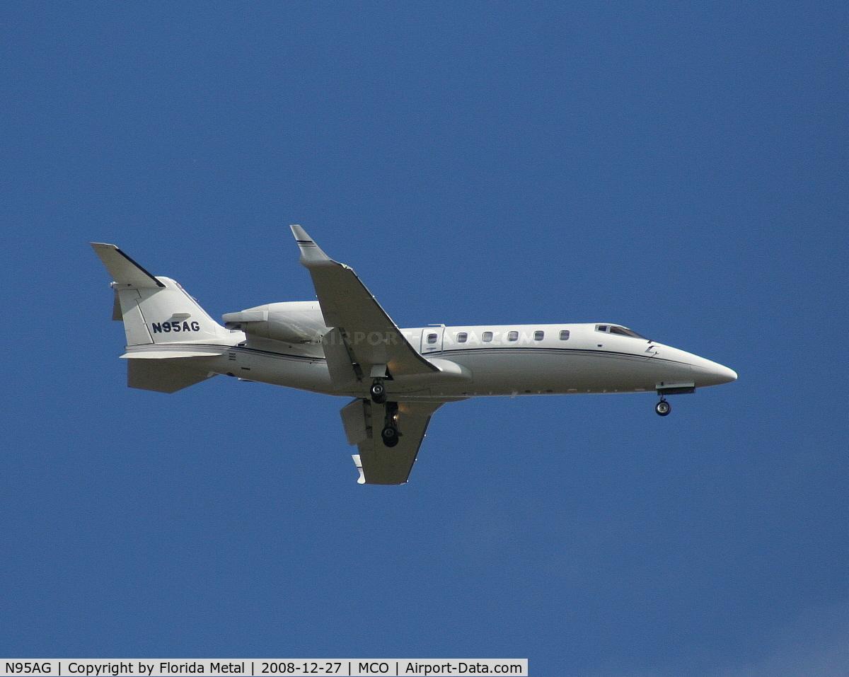 N95AG, 1996 Learjet 60 C/N 079, Lear 60