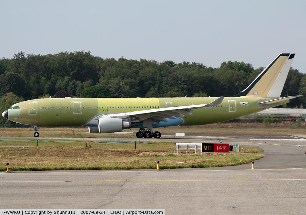 F-WWKU, 2007 Airbus A330-203/MRTT C/N 871, C/n 871 - For USAF as a future A330MRTT