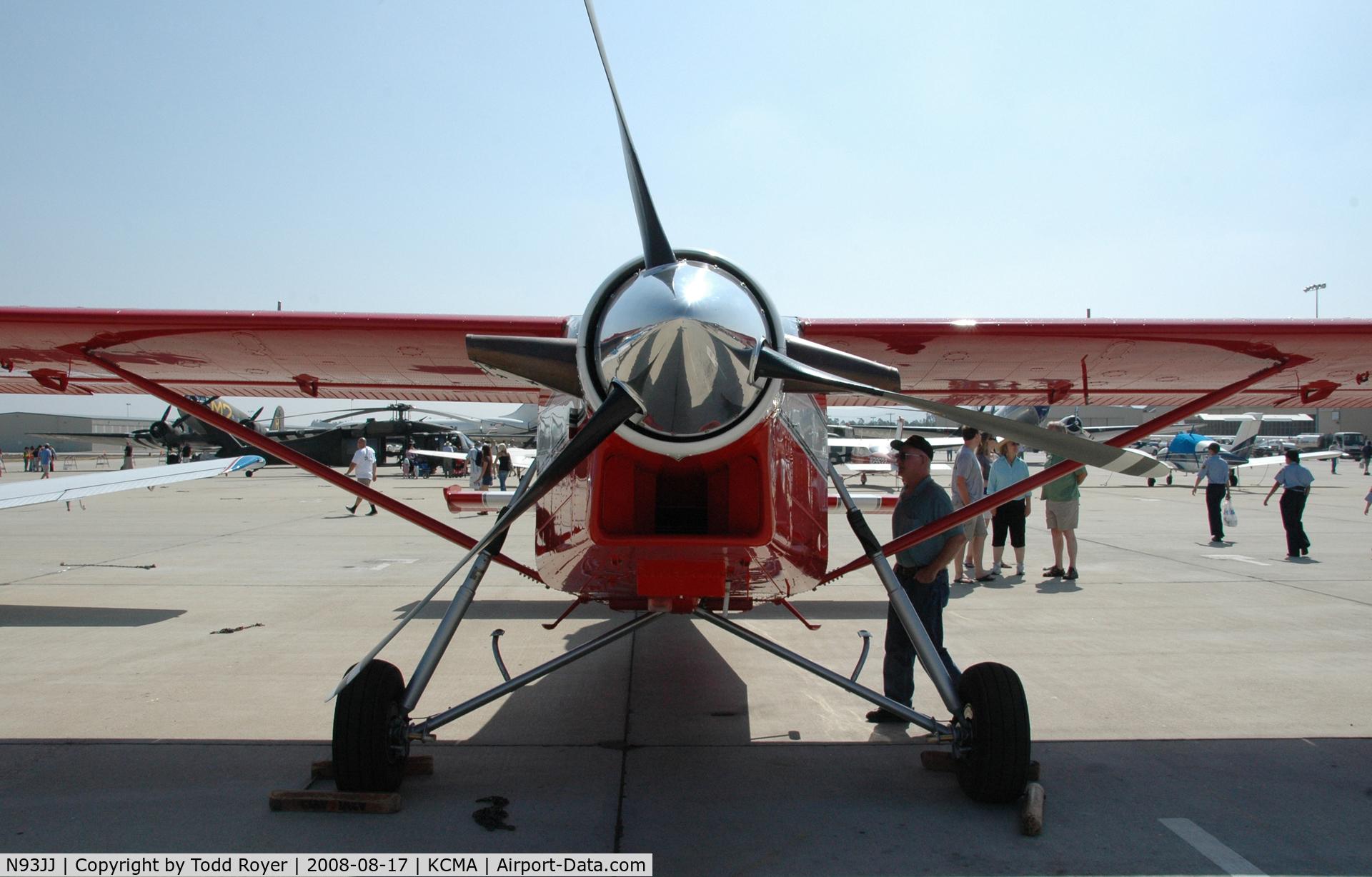 N93JJ, 1988 Pilatus PC-6/B2-H4 Turbo Porter C/N 861, Camarillo Airshow 2008