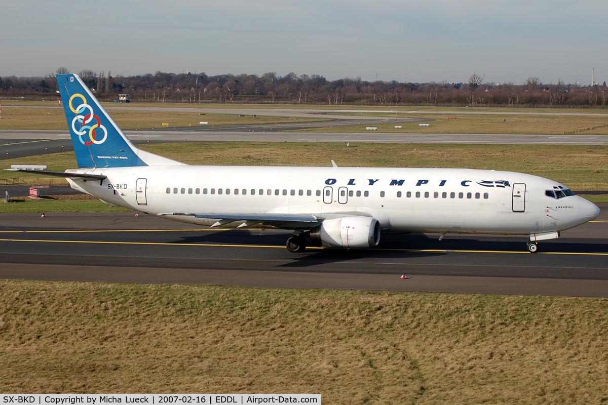 SX-BKD, 1991 Boeing 737-484 C/N 25362, At Duesseldorf