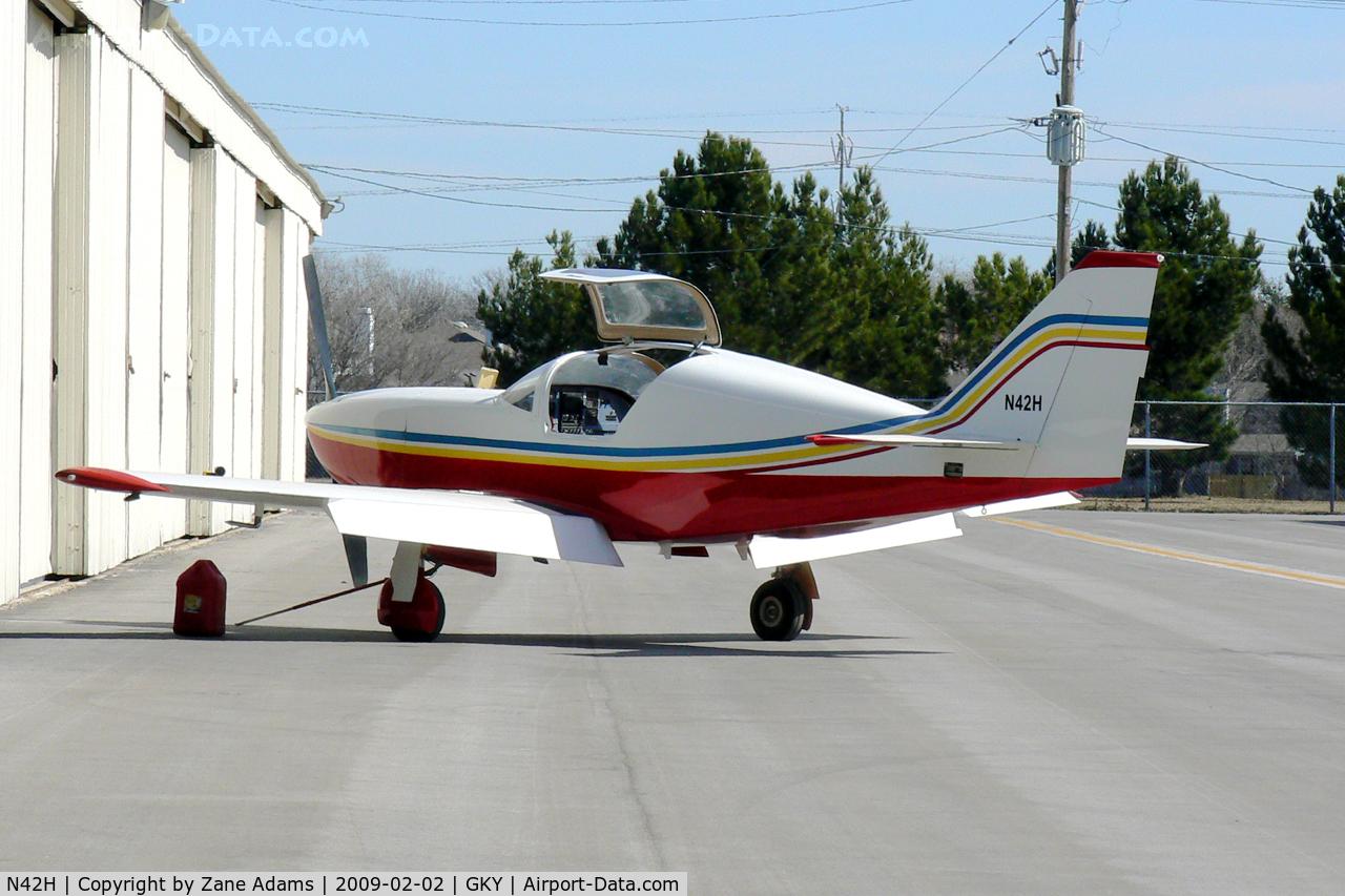 N42H, Stoddard-Hamilton Glasair SH-2 C/N 535R, At Arlington Municipal