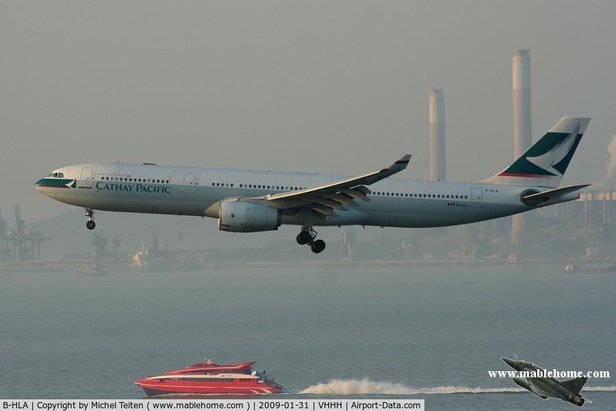 B-HLA, 1994 Airbus A330-342 C/N 071, Cathay Pacific