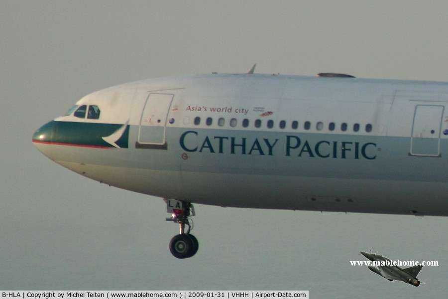 B-HLA, 1994 Airbus A330-342 C/N 071, Cathay Pacific