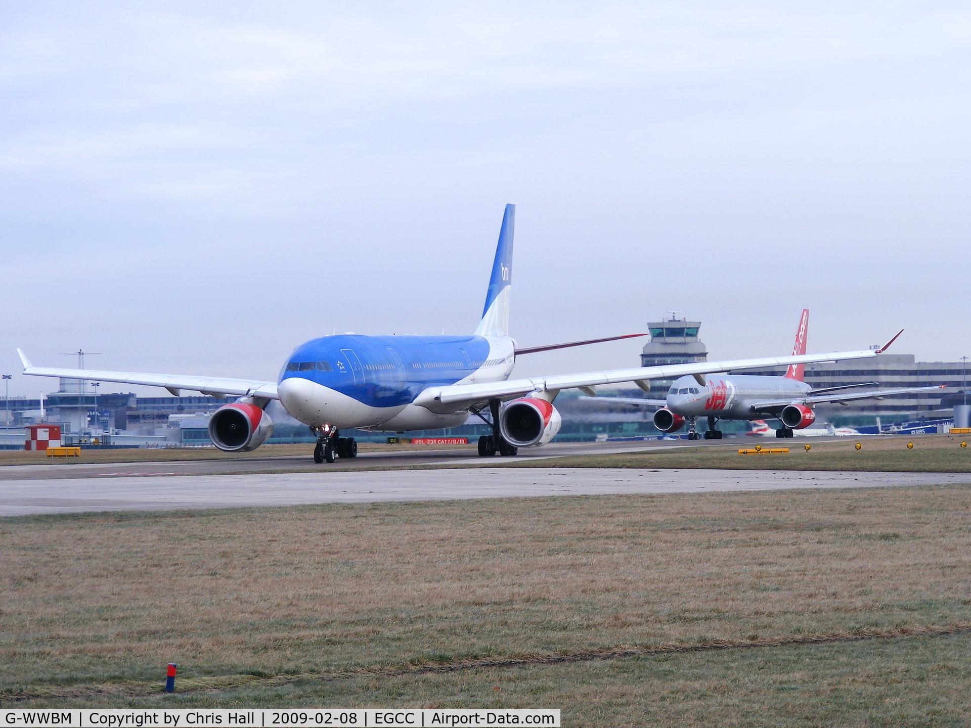 G-WWBM, 2001 Airbus A330-243 C/N 398, BMI