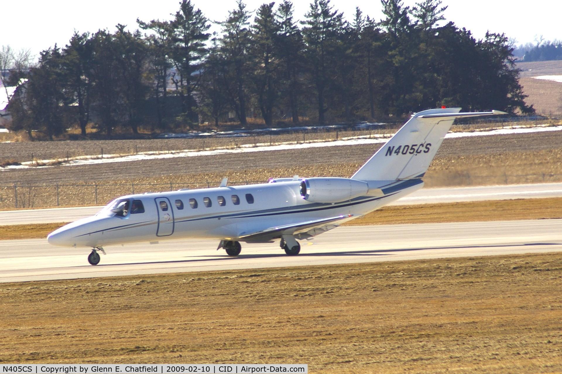 N405CS, 2005 Cessna 525B C/N 525B0036, Taxiing on Alpha on the way to Landmark FBO