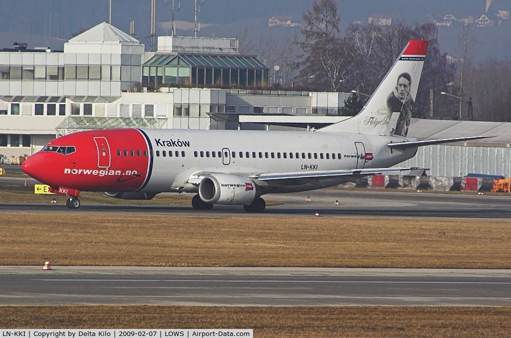 LN-KKI, 1990 Boeing 737-3K2 C/N 24329, Norwegian Air Shuttle