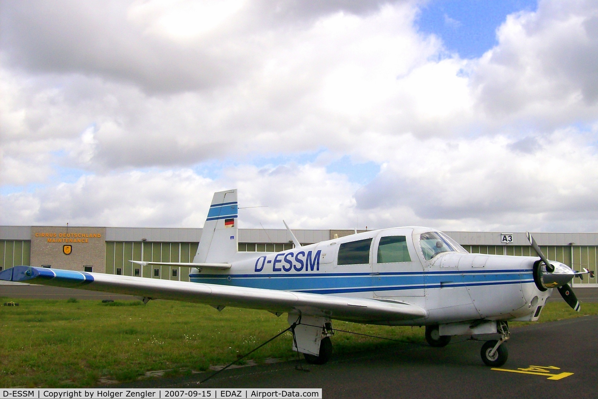 D-ESSM, Mooney M20C C/N 2810, But next weekend he´ll come...