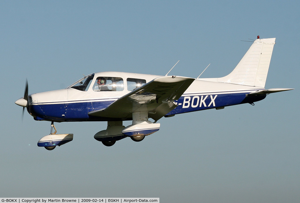G-BOKX, 1978 Piper PA-28-161 C/N 28-7816680, Last of the line.