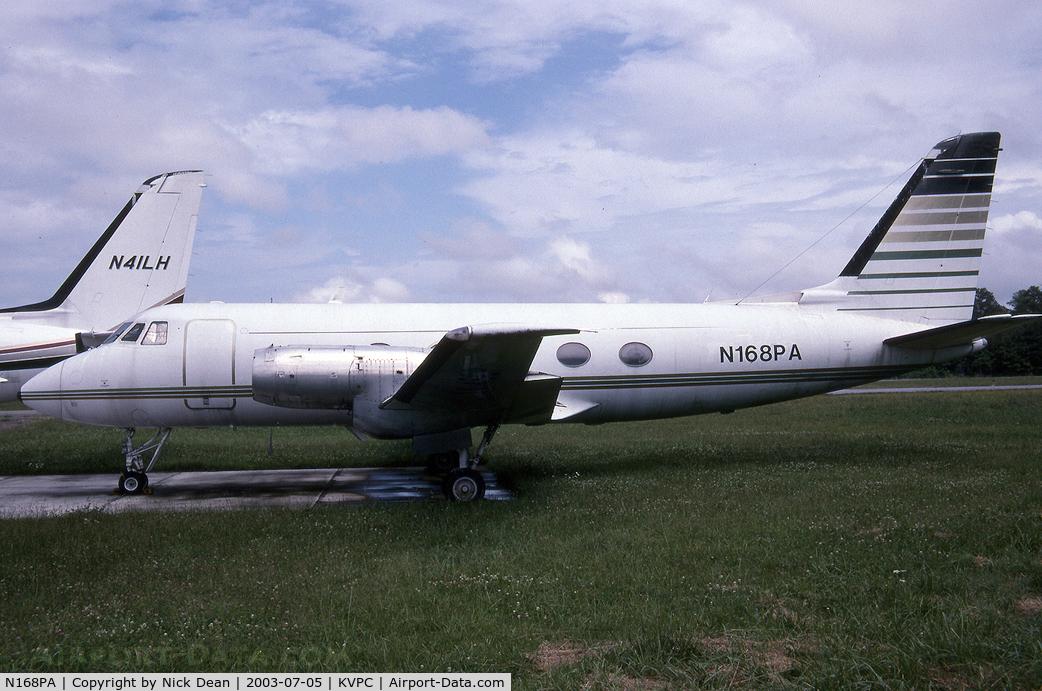 N168PA, 1960 Grumman G-159 Gulfstream 1 C/N 56, KVPC