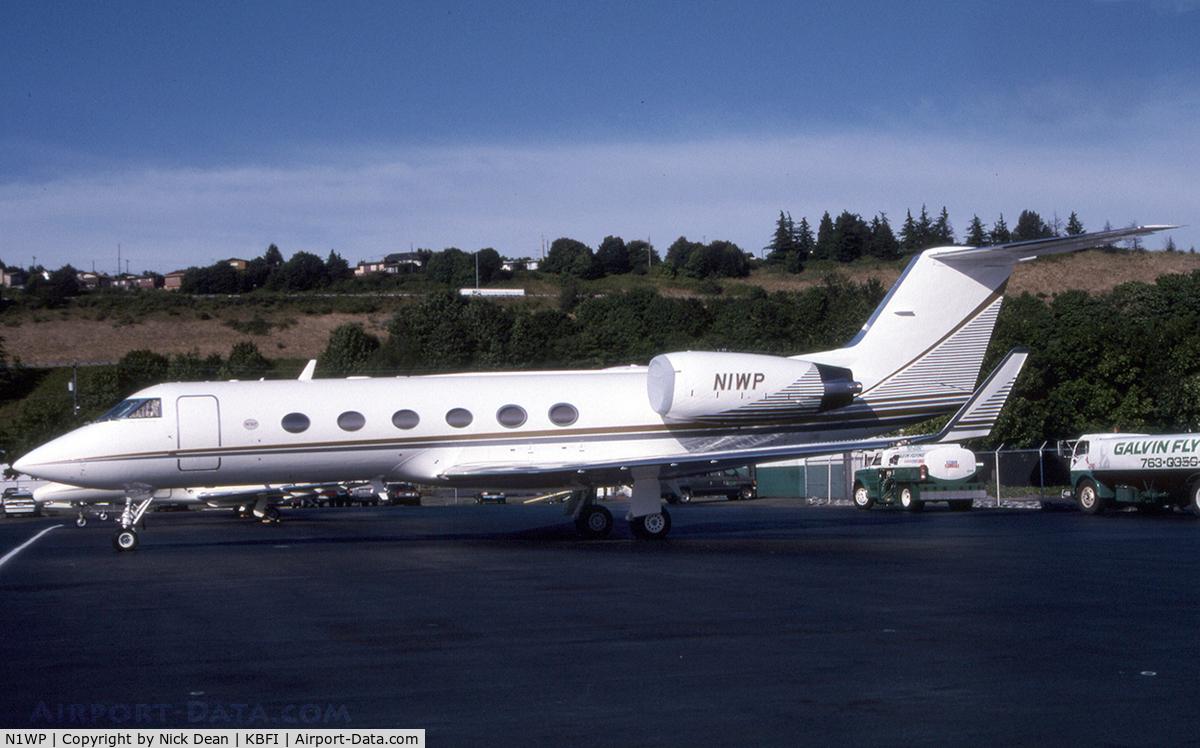 N1WP, 1987 Gulfstream Aerospace G-IV C/N 1030, KBFI
