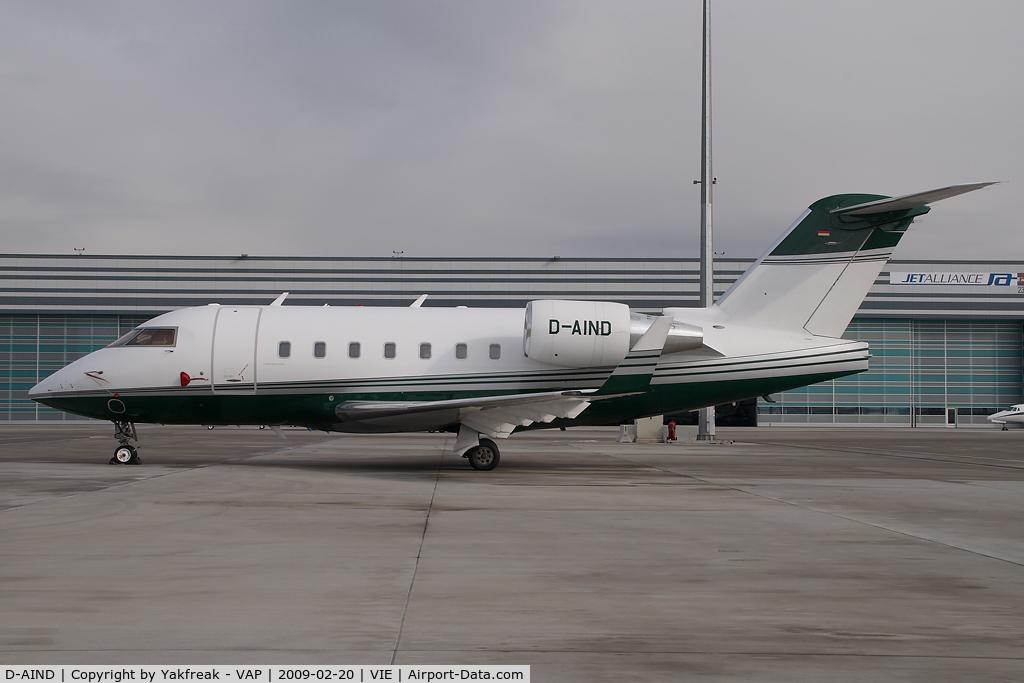 D-AIND, 2003 Bombardier Challenger 604 (CL-600-2B16) C/N 5572, CL600 Challenger