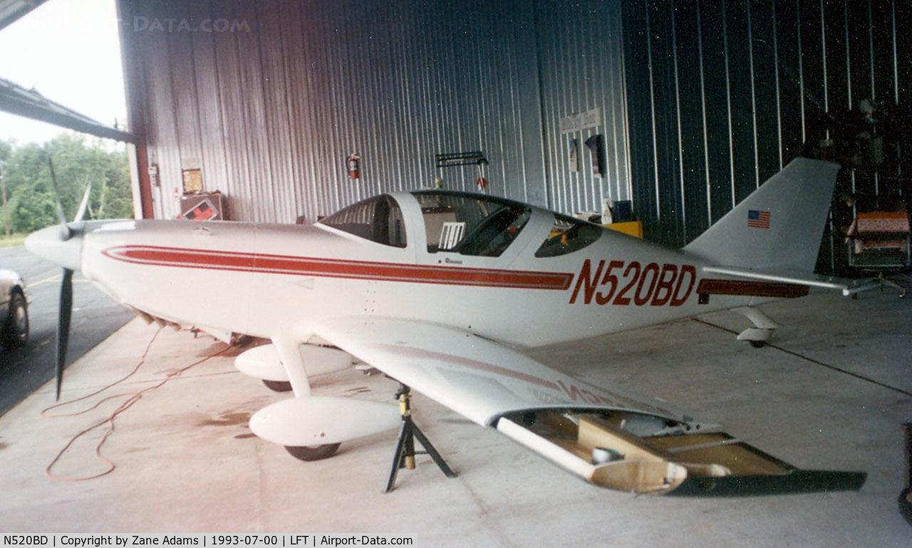 N520BD, 1992 Stoddard-Hamilton Glasair II TD C/N 1062, Glasair II at Lafayette, LA
