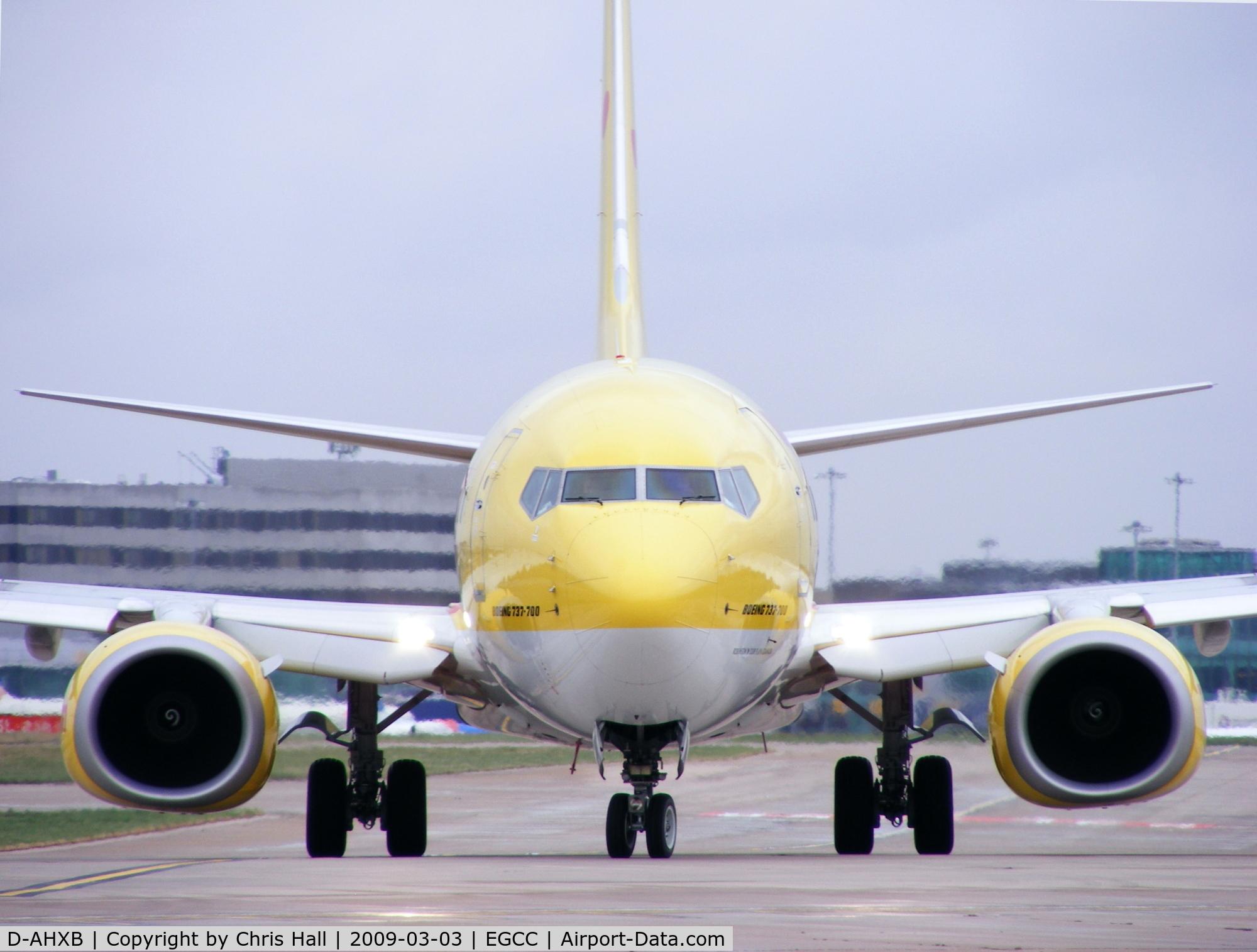 D-AHXB, 2007 Boeing 737-7K5 C/N 30717/2228, TUI