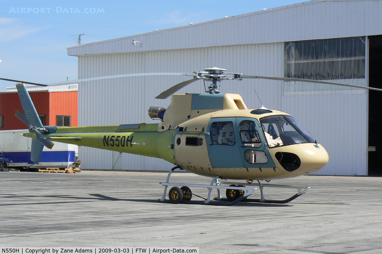 N550H, 2008 Aerospatiale AS-350B-3 Ecureuil C/N 4563, At Meacham Field