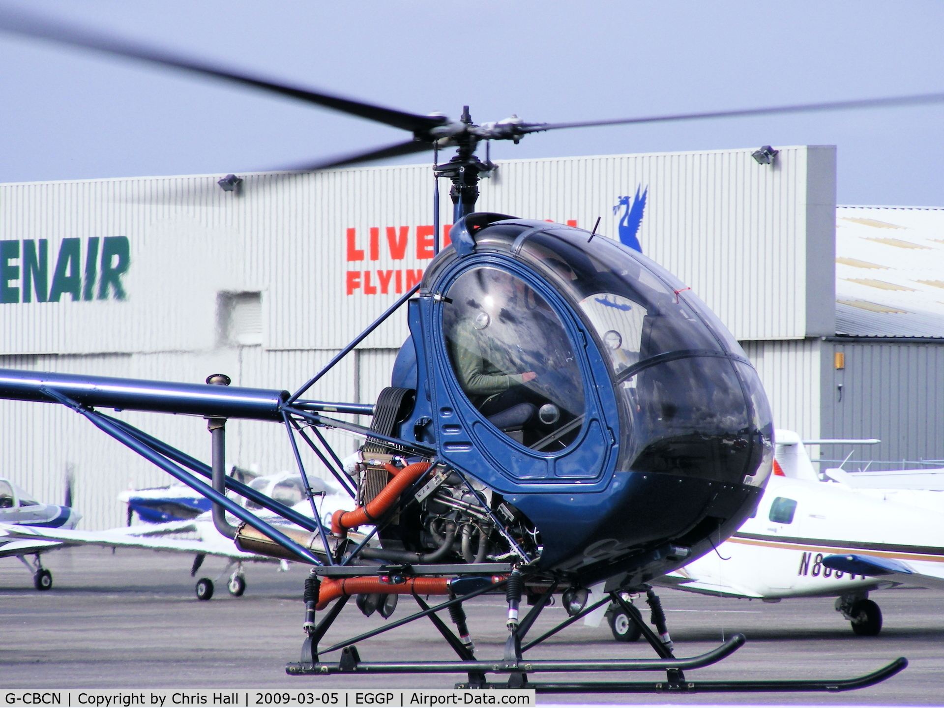 G-CBCN, 2001 Schweizer 269C-1 C/N 0129, HELICENTRE LIVERPOOL LTD, Previous ID: EI-CWS