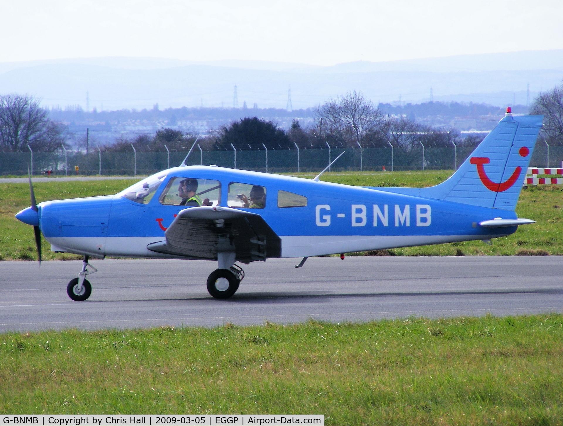 G-BNMB, 1976 Piper PA-28-151 Cherokee Warrior C/N 28-7615369, Thomson flying club, Previous ID: N6826J