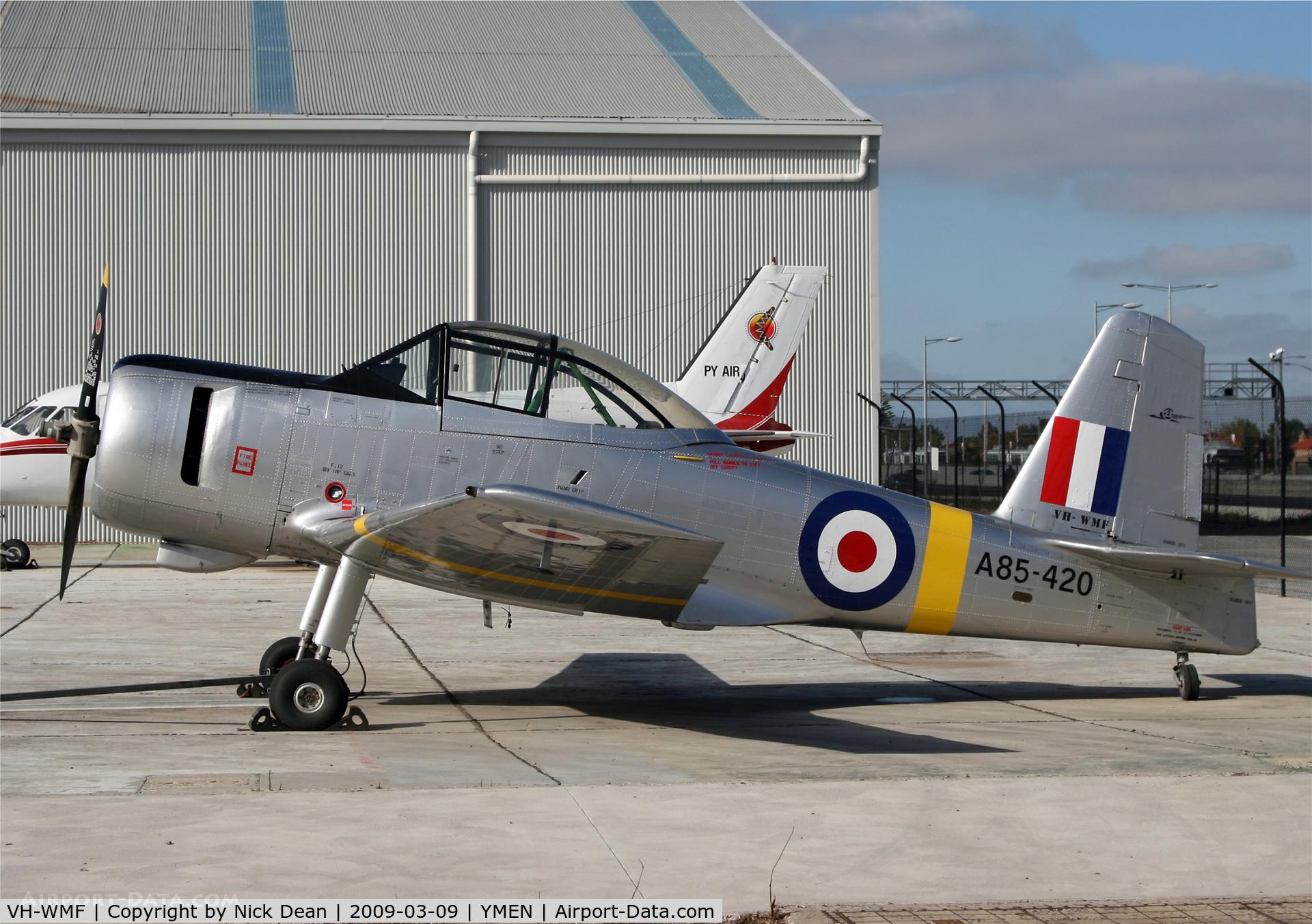 VH-WMF, 1956 Commonwealth CA-25 Winjeel C/N CA25-20, YMEN
