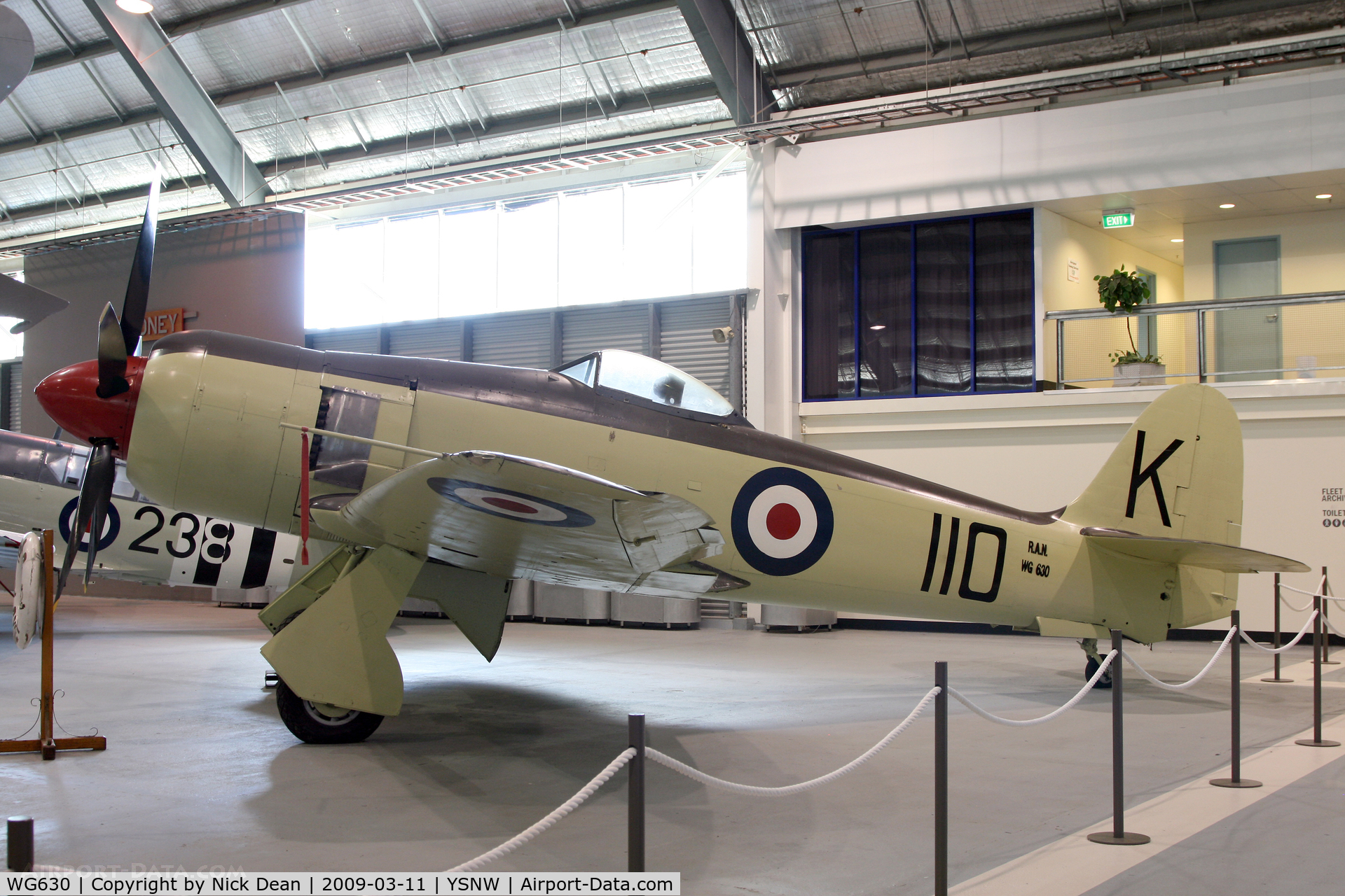 WG630, Hawker Sea Fury FB.11 C/N Not found WG630, YSNW (Fleet Air Arm Museum)
