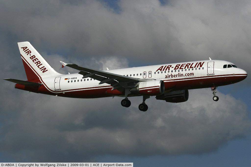 D-ABDA, 2005 Airbus A320-214 C/N 2539, visitor