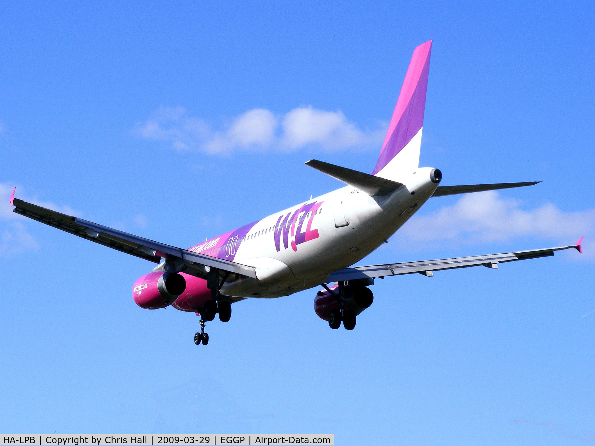 HA-LPB, 2001 Airbus A320-233 C/N 1635, Wizzair
