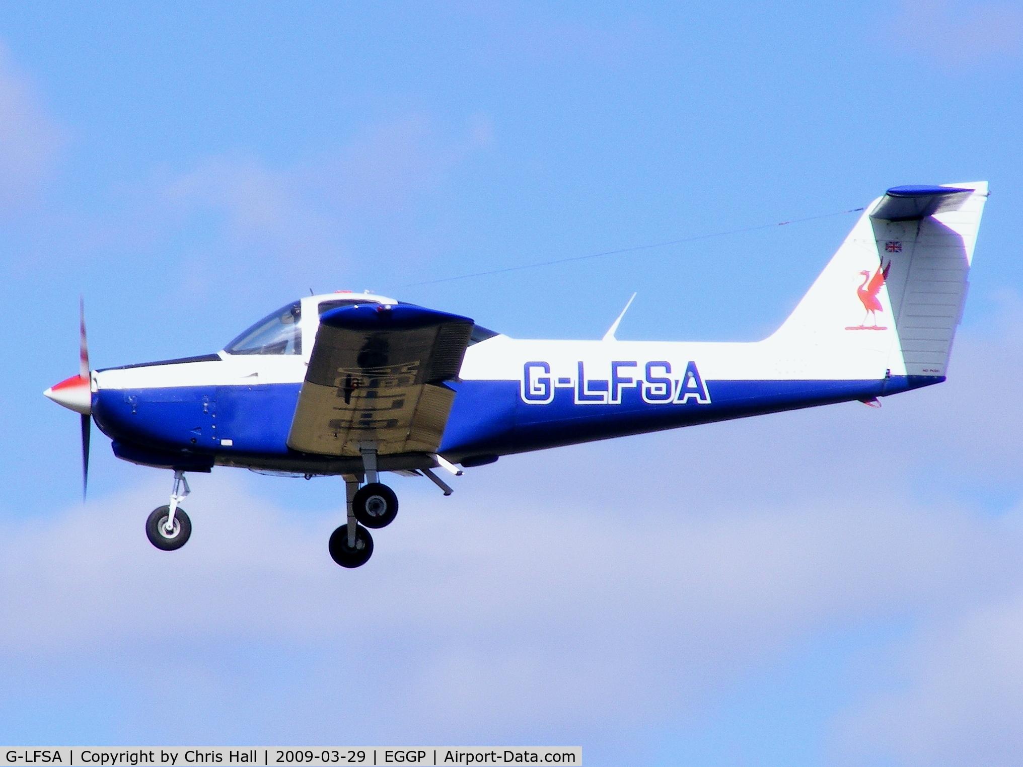 G-LFSA, 1978 Piper PA-38-112 Tomahawk Tomahawk C/N 38-78A0430, Liverpool Flying School