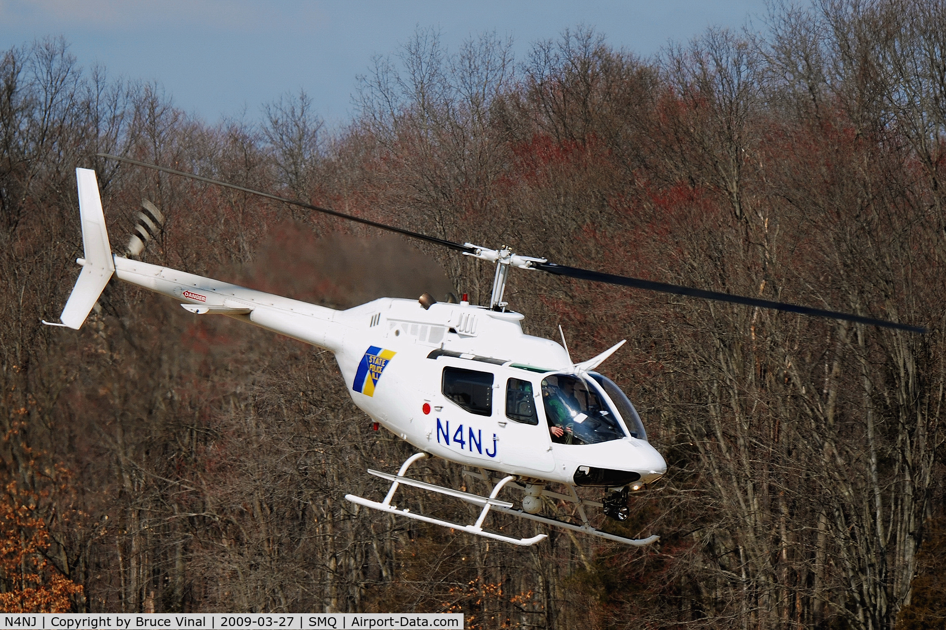 N4NJ, Bell OH-58A C/N 70-15337, New Jersey State Police Chopper