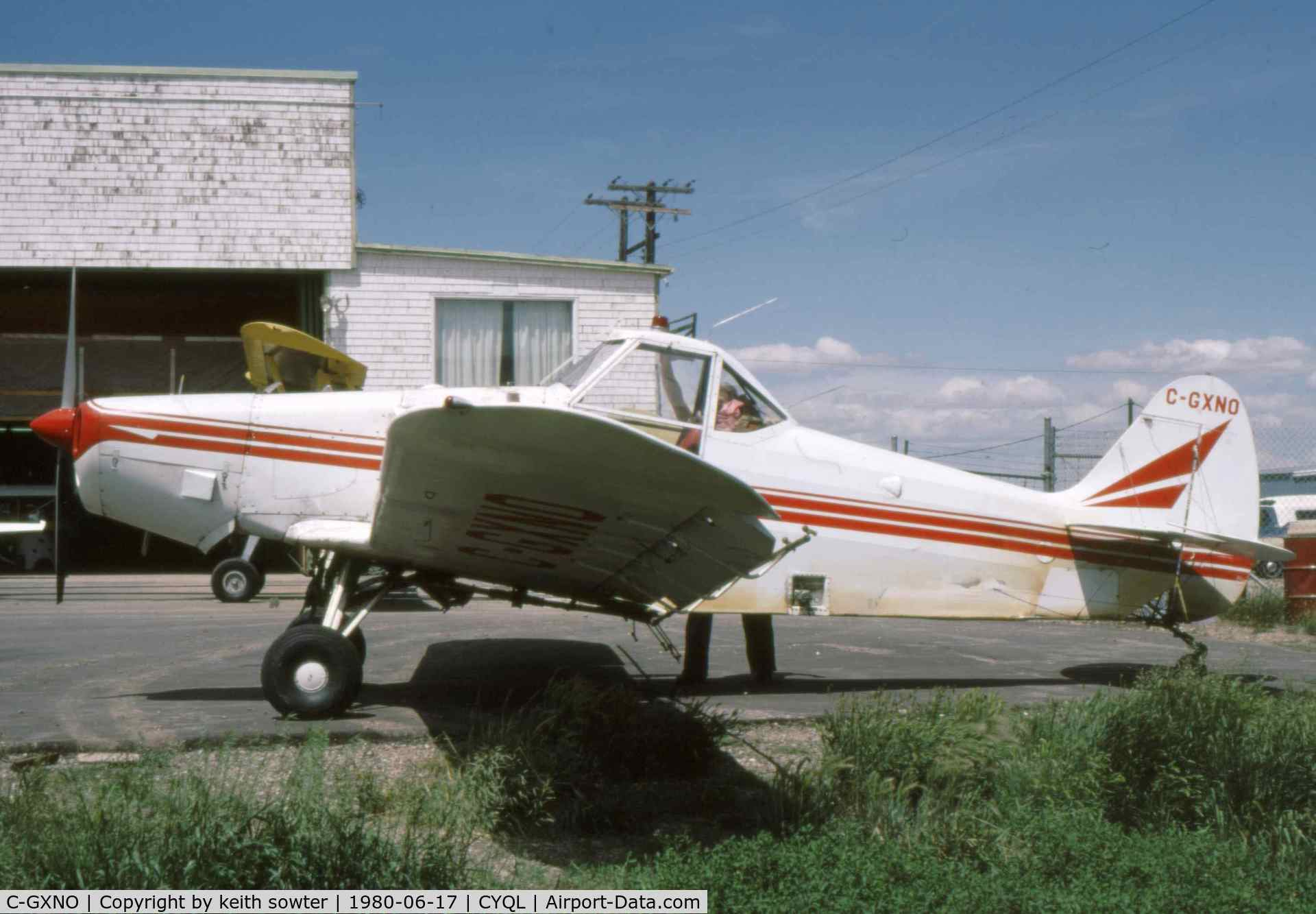 C-GXNO, Piper PA-25-235 C/N 25-3156, Based aircraft