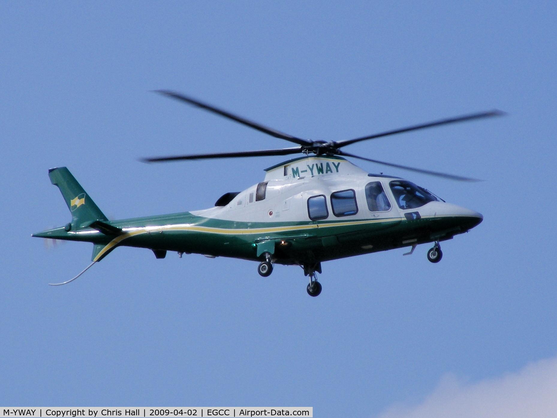 M-YWAY, Agusta A-109S Grand C/N 22098, Agusta A109F Trustair Ltd
