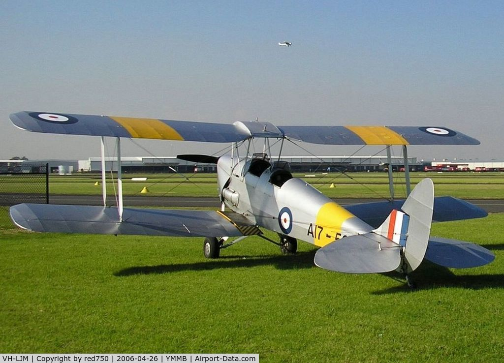 VH-LJM, 1942 De Havilland Australia DH-82A Tiger Moth C/N DHA996, DH-82A VH-LJM
