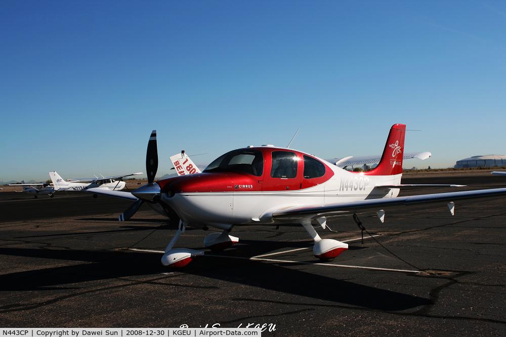 N443CP, 2008 Cirrus SR22 C/N 3296, SR22