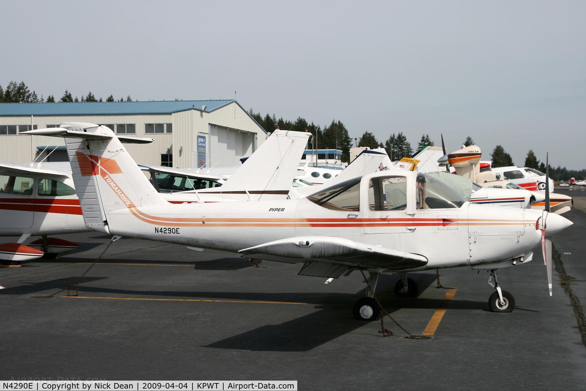 N4290E, 1978 Piper PA-38-112 Tomahawk C/N 38-78A0532, KPWT
