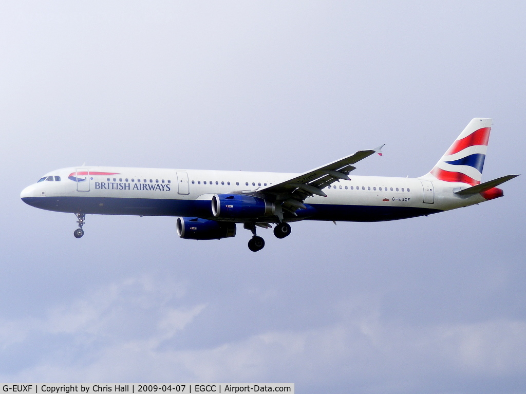 G-EUXF, 2004 Airbus A321-231 C/N 2324, British Airways