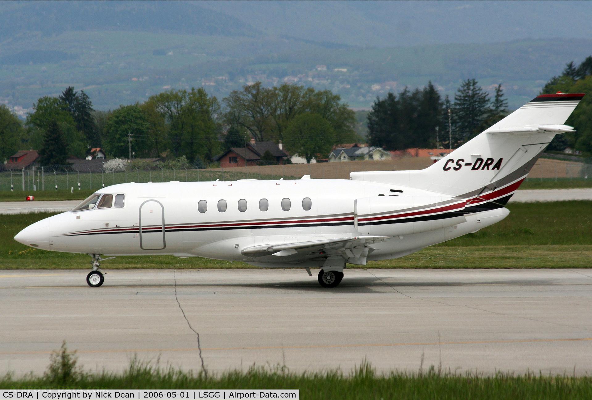 CS-DRA, 2004 Raytheon Hawker 800XP C/N 258686, LSGG