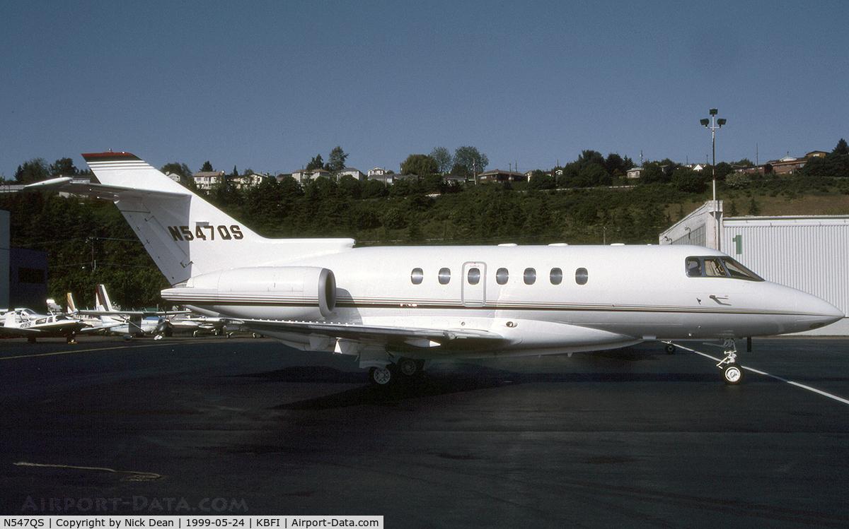 N547QS, 1994 British Aerospace BAE125 HAWKER 1000A C/N 259047, KBFI
