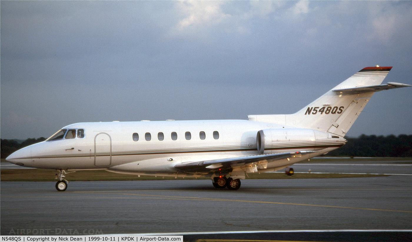 N548QS, 1995 British Aerospace BAE125 HAWKER 1000A C/N 259048, KPDK
