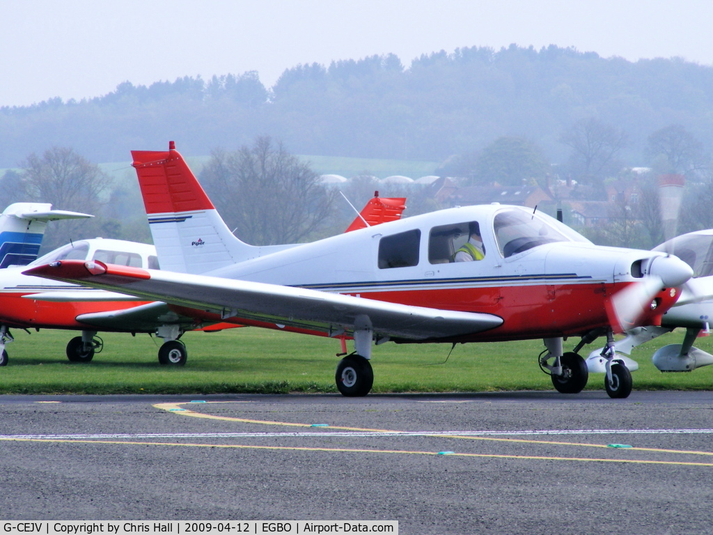 G-CEJV, 1989 Piper PA-28-161 Cadet C/N 2841225, AVIATION RENTALS