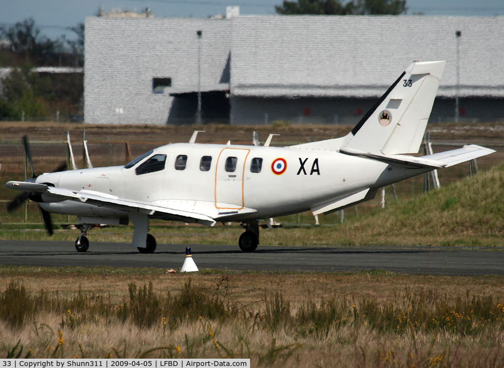 33, Socata TBM-700A C/N 33, Rolling for first flight with people... during BA106 Open Day