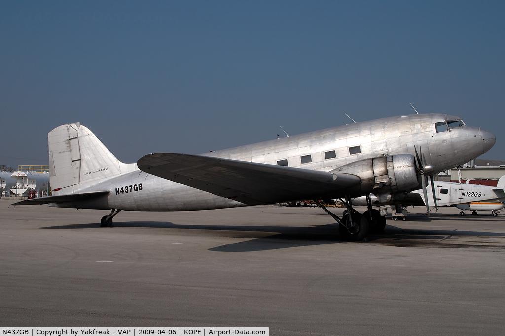 N437GB, 1945 Douglas DC3C-S1C3G C/N 19999, Atlantic Air Cargo Douglas DC3