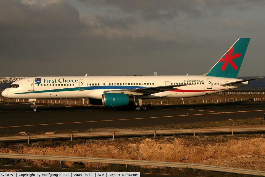 G-OOBJ, 1993 Boeing 757-2B7 C/N 27147, visitor
