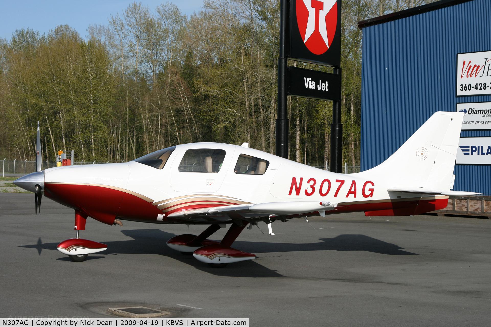 N307AG, 2006 Columbia Aircraft Mfg LC41-550FG C/N 41595, KBVS