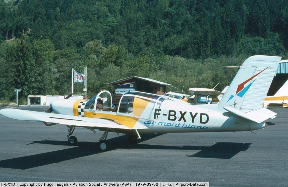 F-BXYD, Socata Rallye 150ST C/N 2693, slide copied
