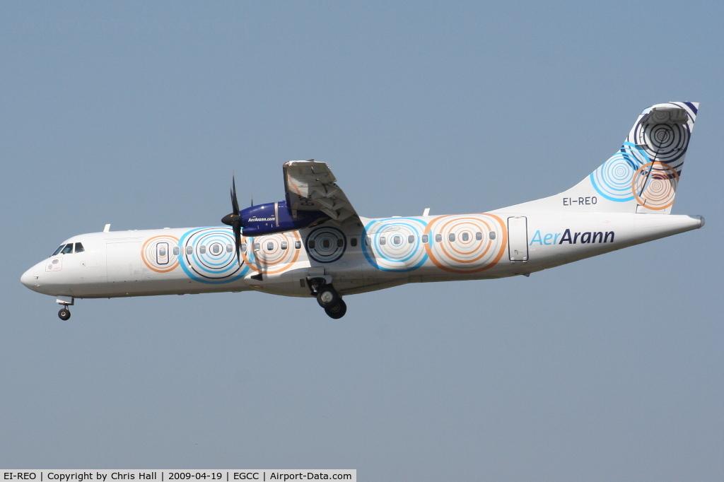 EI-REO, 2008 ATR 72-212A C/N 787, Aer Arann