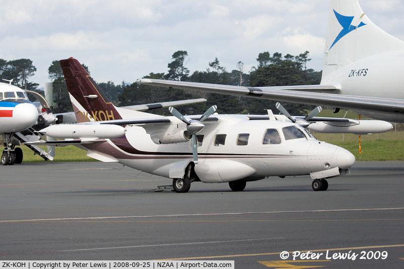 ZK-KOH, Mitsubishi MU-2B-30 C/N 521, Helicopter Services (BOP) Ltd., Taupo